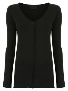 Andrea Bogosian buttoned blouse - Black
