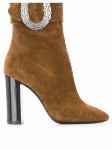 Saint Laurent Joplin boots - Brown