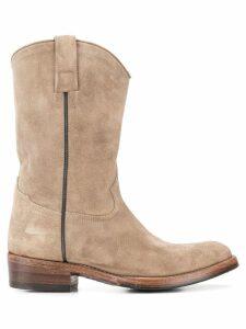 Alberto Fasciani western ankle boots - Neutrals