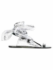 Isabel Marant flat sandals - Metallic