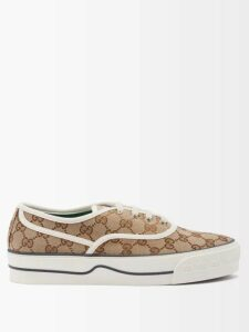 Vita Kin - Mirror Geometric Embroidered Linen Dress - Womens - Black Pink