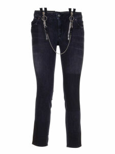 Dsquared Runway Straight Cropped Jeans