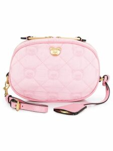 Moschino teddy quilted belt bag - Pink