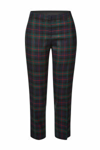 Burberry Glassbury Checked Virgin Wool Pants