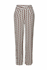 Aybi Palina Printed Straight Leg Pants