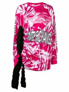 Calvin Klein Jeans Est. 1978 Modernist tie-dye top - PINK