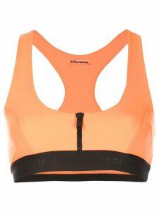 Heron Preston racerback cropped top - Orange