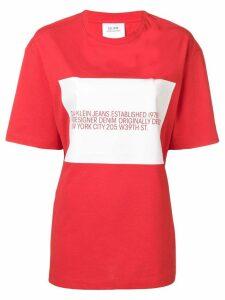 Calvin Klein Jeans Est. 1978 logo print T-shirt - Red