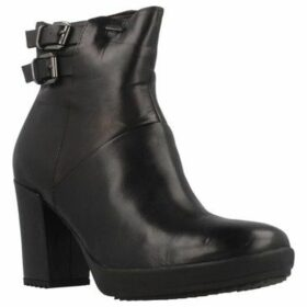 Stonefly  OPRAH GORE 1 CALF ID  women's Low Ankle Boots in Black