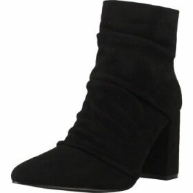 Be Different Be Yellow  WHIP  women's Low Ankle Boots in Black