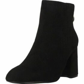 Be Different Be Yellow  AKUMA  women's Low Ankle Boots in Black