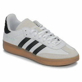adidas  SAMBA RM  women's Shoes (Trainers) in White