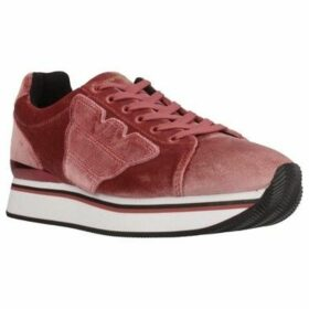 Armani  X3X057 XD163  women's Shoes (Trainers) in Pink