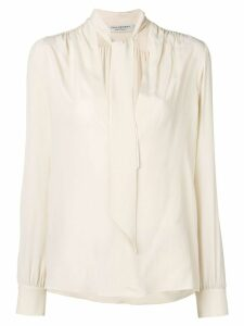 Philosophy Di Lorenzo Serafini tie top blouse - NEUTRALS