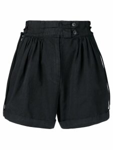 Diesel Black Gold pleated shorts