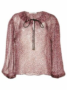 Philosophy Di Lorenzo Serafini Leo printed blouse - Red