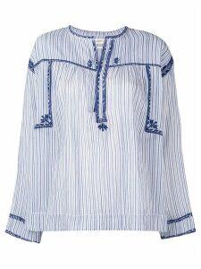 Isabel Marant Étoile Jilcky vintage stripe blouse - Blue