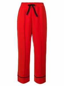 McQ Alexander McQueen straight-leg trousers - Red