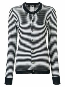 Junya Watanabe striped cardigan - Blue
