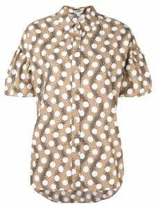 Kenzo polka dot short sleeve shirt - Neutrals
