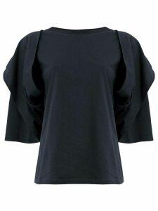 Aalto deconstructed T-shirt - Blue