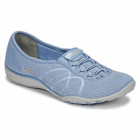 Skechers  Breathe-Easy  women's Slip-ons (Shoes) in Blue