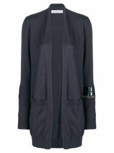 Fabiana Filippi embellished sleeve cardigan - Grey