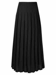 Mara Hoffman Cordelia high-pleated skirt - Black