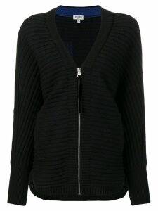 Kenzo zip-up cardigan - Black