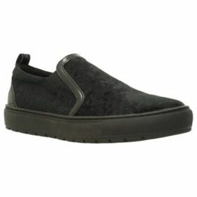 Geox  D BREEDA  women's Slip-ons (Shoes) in Black