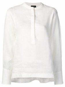Joseph long-sleeve blouse - White