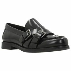 Geox  D PROMETHEA  women's Loafers / Casual Shoes in Black