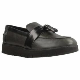 Geox  D BLENDA  women's Loafers / Casual Shoes in Grey