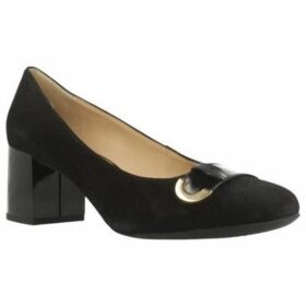 Geox  D AUDALIES MID  women's Court Shoes in Black