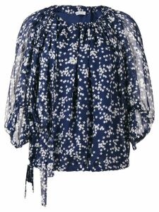 P.A.R.O.S.H. star printed blouse - Blue