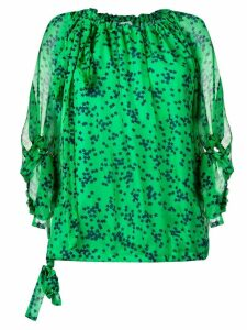 P.A.R.O.S.H. star print blouse - Green