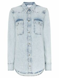 Calvin Klein Jeans Est. 1978 Western flap pocket denim shirt - Blue