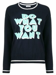 P.A.R.O.S.H. Do What You Want sweater - Blue