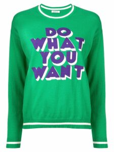 P.A.R.O.S.H. Do What You Want sweater - Green