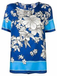P.A.R.O.S.H. floral print blouse - Blue