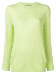 Ermanno Scervino embroidered logo jumper - Green