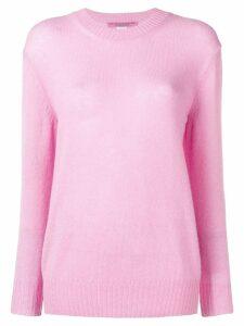 Ermanno Scervino embroidered logo jumper - Pink