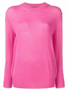 Ermanno Scervino embroidered logo jumper - Pink