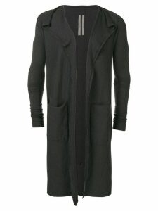Rick Owens long cardigan - Blue