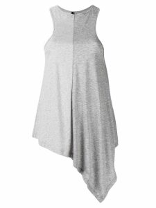 Unravel Project asymmetrical tank top - Grey