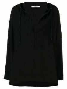 Givenchy hooded blouse - Black