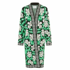 Hayley Menzies - Soraya Midi Cardigan Black & Green