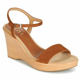Unisa  RITA  women's Sandals in Brown