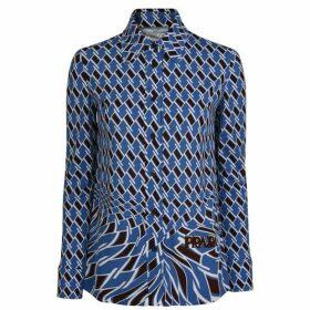 Prada Printed Jersey Shirt