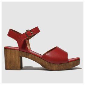 Schuh Red Maine Low Heels